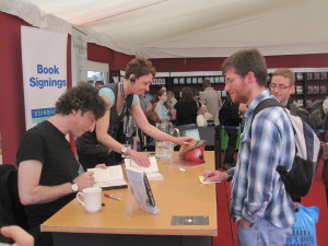 Neil Gaiman at the Book Festival