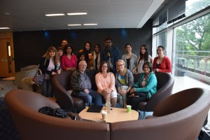Students With Terry Eagleton