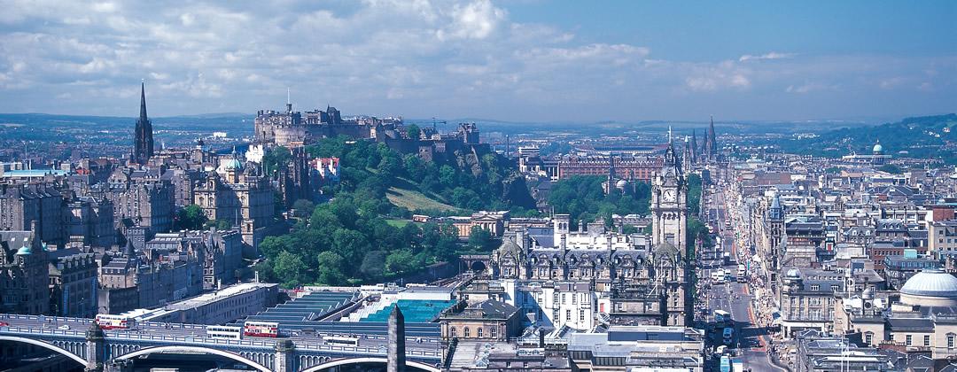 Edinburgh — a literary landscape