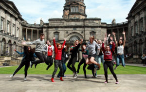 SUISS students at Old College